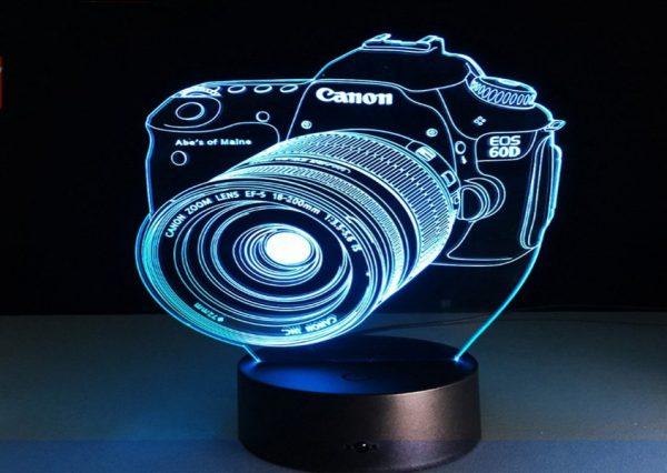 شكل الكاميرا