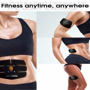 Smart Fitness EMS – مجموعة التدريب الإلكترونية قطعة المؤخرة